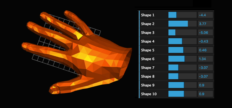 Deformable hand demo
