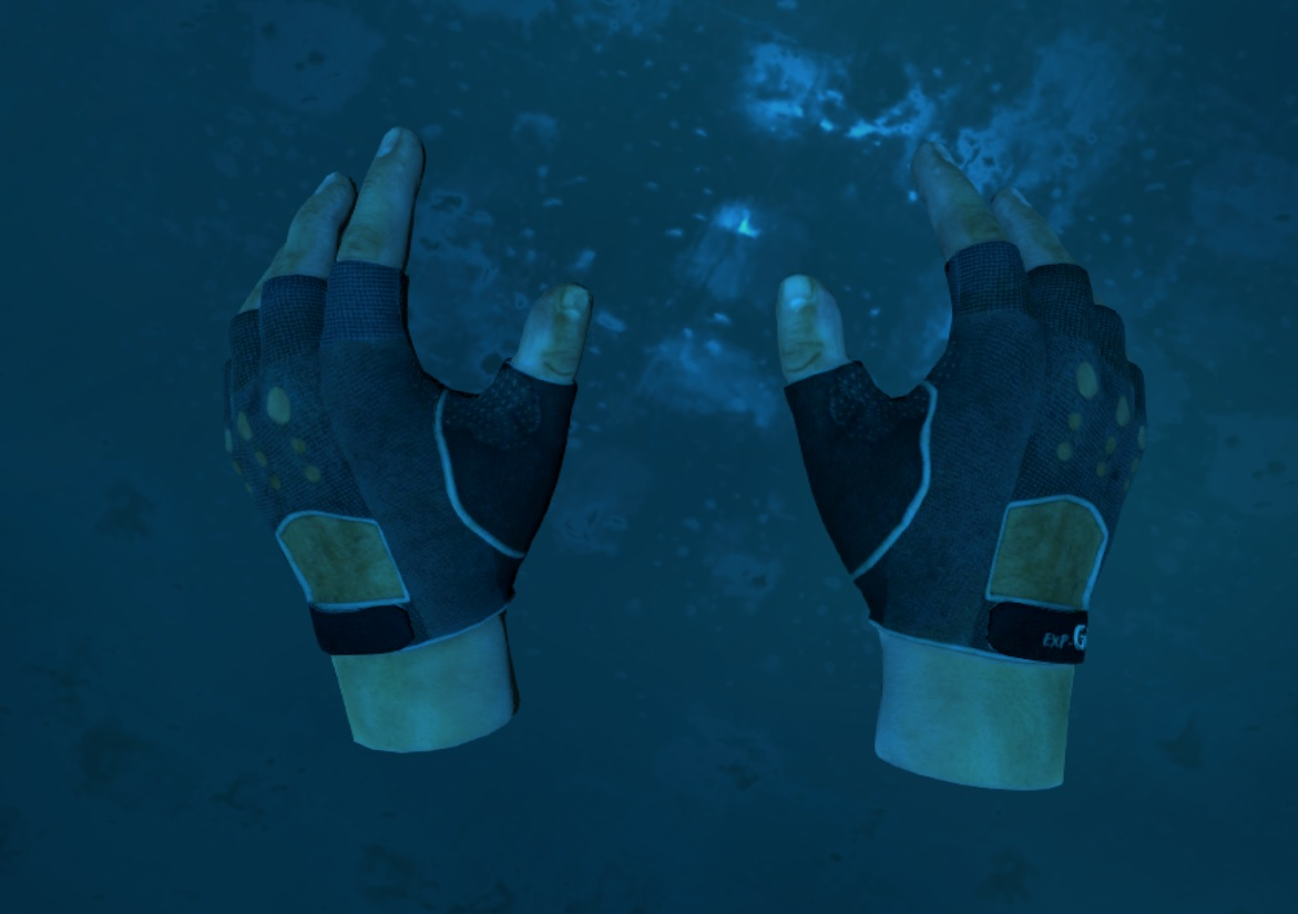 Hands in-game