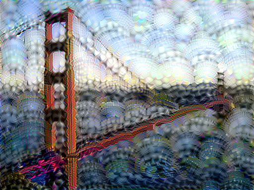 Maximizing another neuron activation with style transfer