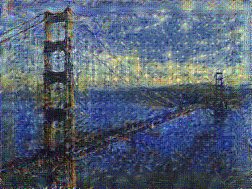 Style Transfer with Alexnet
